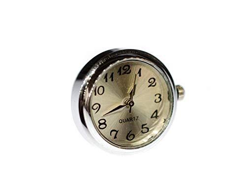 Miniblings Broche de reloj que funciona con broche para reloj de pulsera, hecho a mano, diseño de moda