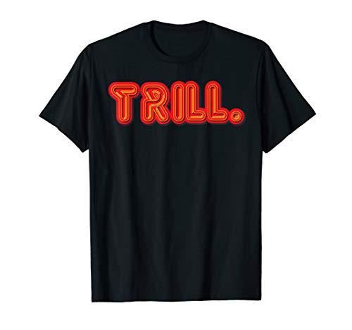 Trill Texas H-Town Screwston Rocket Red Gold Houston T-Shirt