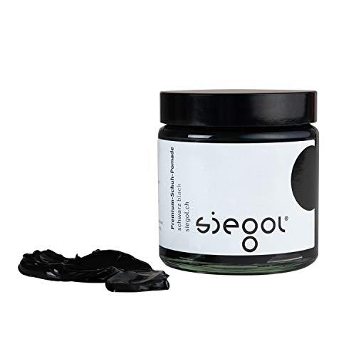 Siegol® Glattleder Pflege Quartett - Palmenwachsschuhcrème 100 ml Schuhcrème Nr. 2 Pomade