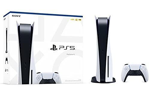 Console Playstation 5 PS5 Sony Disc Version, com Capacidade do SSD: 825GB, Tipo de controle: DualSense, Conexões: HDMI - Blu-ray, Ray Tracing - E/S integrada - HDR - Saída em 8K - Tempest 3D AudioTech - PlayStation 5 PS5 Sony Pronta Entrega no BRASIL