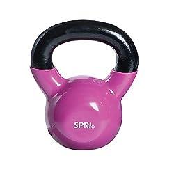 pink kettlebell