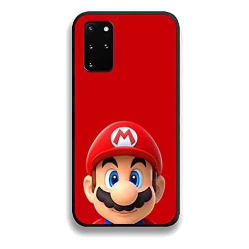 Cartoon Super Marios Bros Phone Case for Huawei Honor 6A 7A 7C 8 8A 8X 9 9X 10 10i 20 Lite Pro Play Black Prime Shell