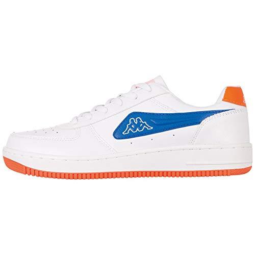 Kappa Męskie sneakersy Bash Pc, biały - 1060 White Blue - 41 EU