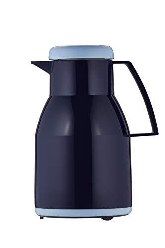 Helios Wash S + Kunststoff-Isolierkanne mit Drehverschluss 1,0 l dunkelblau spülmaschinenfest