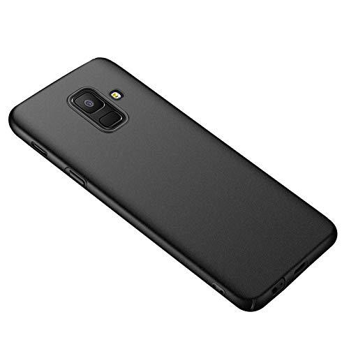 Alihtte Case Cover für Samsung A6(2018) Hülle, Schutzhülle Tasche Schlicht-Dünn-Leichte Seidiges Gefühl PC Slim Handyhülle Matt Hardcase für Samsung Galaxy A6(2018) 5,6