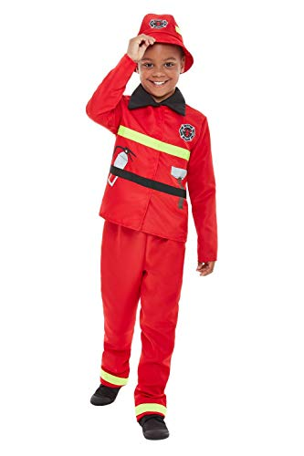 Smiffys 47715M Brandweer Kostuum, Jongens