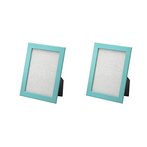 IKEA FISKBO Frame 4x6' A variety of colors to choose from (Set of 2 Frames) (Light blue)