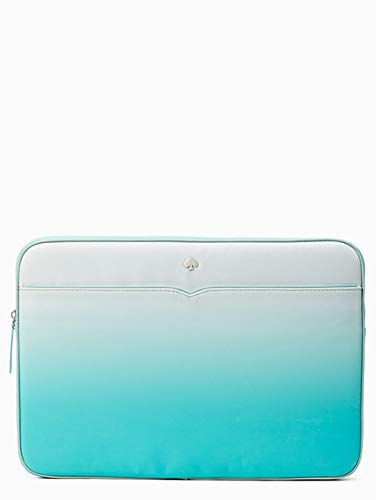 Kate Spade Jae Degrade Fiji Green Laptop Sleeve Cover Case