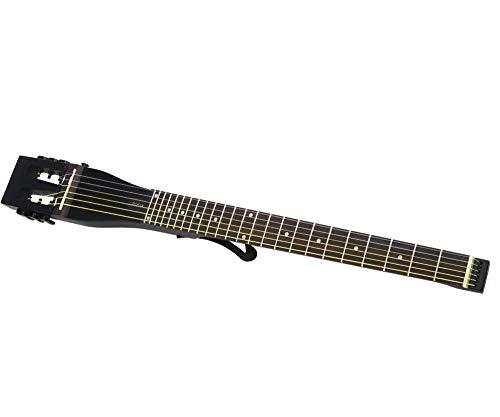 Anygig AGS SE-MBK - Guitarra eléctrica (25,5 pulgadas), color negro mate