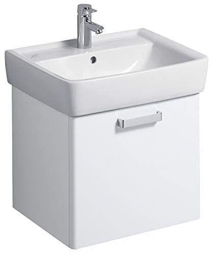 Keramag Waschbeckenunterschrank Renova Nr.1 Plan, 879070 53x44,5cm x46,3cm Weiß Hochglanz 879070000