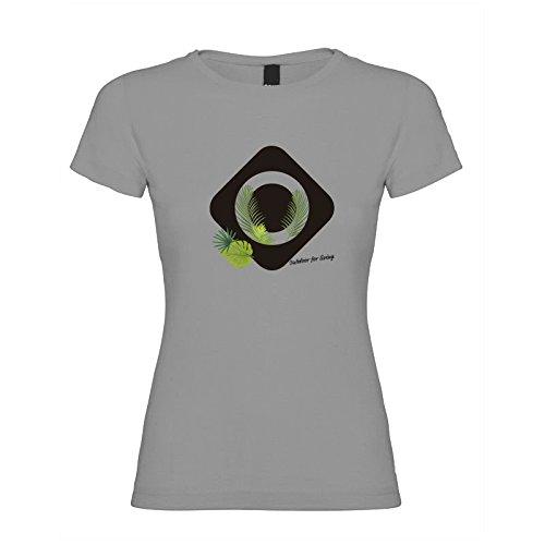 Izas - Nun - T-shirt - Femme - Gris - M