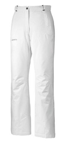 Schöffel Damen Skihose Savona Dynamic III, White, 44, 10006-21843-1000