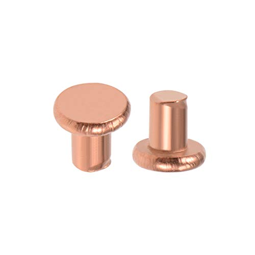 uxcell10pcs 3mm Clamping Dia Copper Collet Adapter Nut for Rotary Power Tool