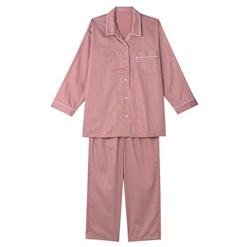 (ワコール) wacoal 睡眠科学 レディース パジャマ スーピマ綿サテン YDX516 RP L