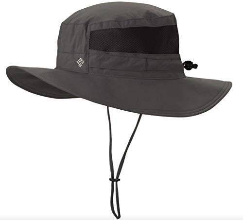 Columbia Unisex Tillie Creek Omni-Shade 50 UPF Booney Hat (Dark Grey, One Size)