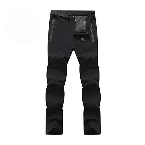 Ynport Crefreak Pantalones de Invierno para Hombre de Kiwi con Forro Polar Pantalones de Senderismo de esquí térmico en Invierno