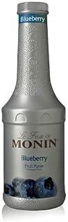 Monin blueberry fruit puree mix