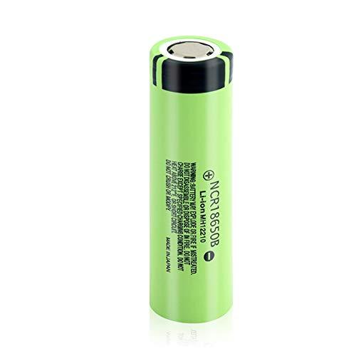 softpoint Batería De ión De Litio Real Ncr18650b, Batería De Iones De Litio Recargable De 3.7v 3400mah Pilas 1Pcs