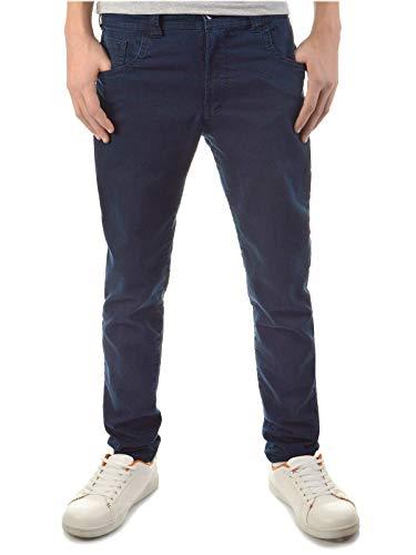 BEZLIT Kinder Jungen Jeans-Hose dehnbar Röhren-Hose Straight Fit Stretch-Hose RX 22872 Blau 116