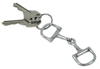 Metalab Snaffle Bit Keychains - 4 1/2'