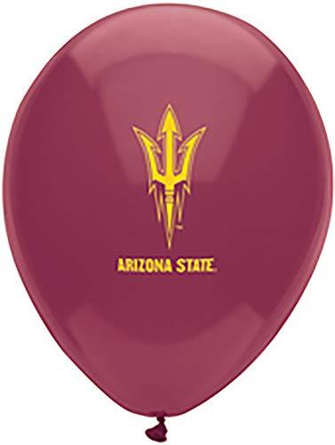 Pioneer Balloon Company 10 Count Arizona State Latex Balloon, 11, Multicolor