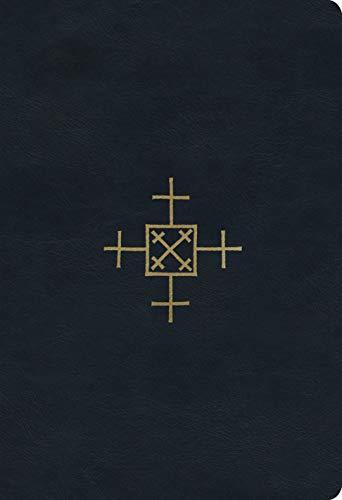 ESV Student Study Bible (TruTone, Navy, Cross of Christ Design)