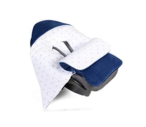 Babydecke, Einschlagdecke, Decke für Babyschale Fußsack für Autositz, Kinderbett,...
