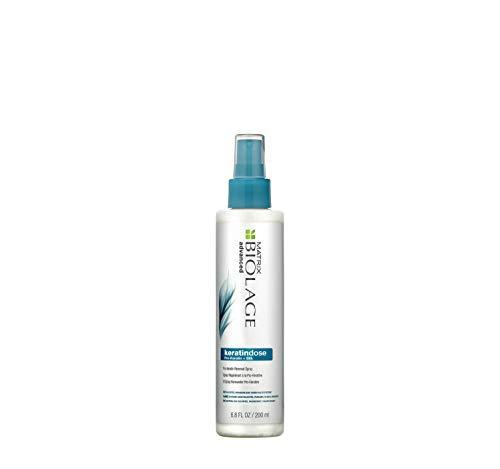 BIOLAGE Advanced Keratindose Pro-Keratin Renewal Spray | Restores Hair's Shine & Manageability | Paraben-Free | for Overprocessed, Damaged Hair | 6.7 Fl Oz