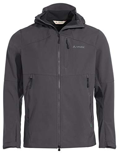 VAUDE Herren Jacke Men's Roccia Softshell Jacket II, Iron, M, 42291