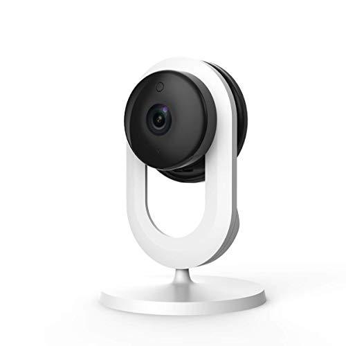 Blurams Home Lite 720p Cámara de Vigilancia en Domo para el Hogar-WiFi Micrófono-Altavoz Detección Inteligente Movimiento/Sonidos Notificaciones Móvil Tiempo Real Visión Nocturna (iOS & Android)