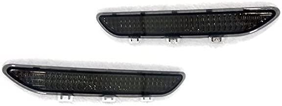 Smoke Front Bumper Side Reflectors by DEPO Fit for 2004-2006 BMW E46 Non-M3 2D Coupe/Cabrio
