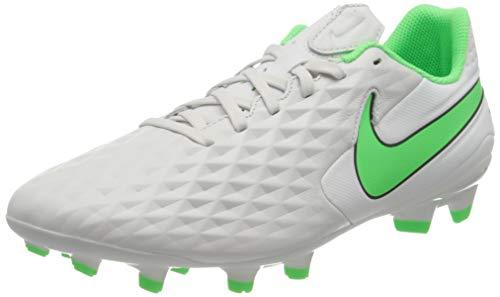 Nike Legend 8 Academy FG/MG, Scarpe da Calcio Unisex-Adulto, Platinum Tint/Rage Green-Black, 42.5 EU