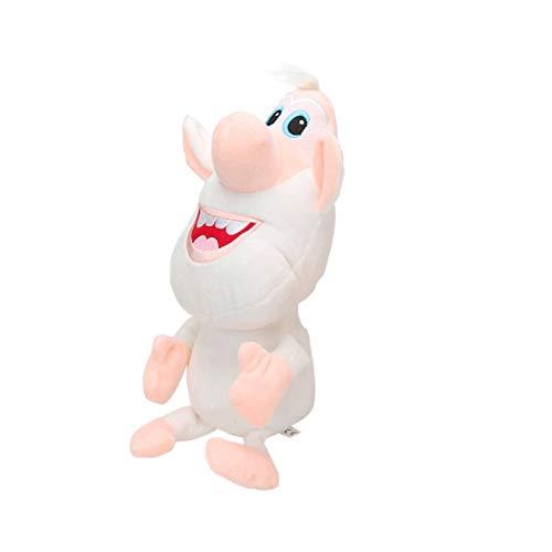 N/A Booba Plüsch Stofftier -11,6 Zoll Kuscheltier Cartoon White Pig Cooper Puppe Russische Booba Buba Replica Collection