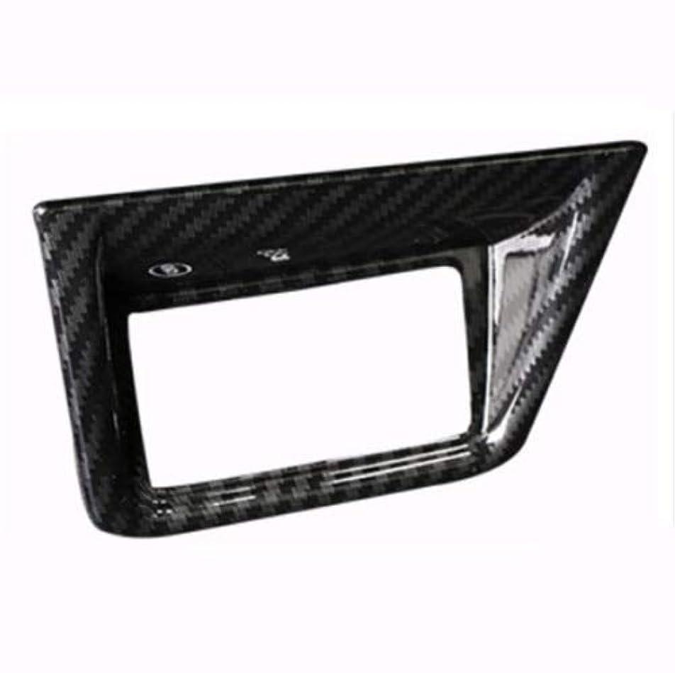 郵便屋さん古くなったヤギJicorzo - Carbon Fiber Style Car Lower left Middle Console Cover Trim Fit For Honda Accord 2018 Car Interior Accessories Styling