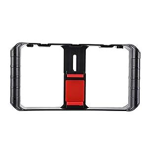 Smartphone Camera Stabilizer Video Rig, Phone Video Stabilizer Grip Tripod Mount, Smartphone Filmmaking Case