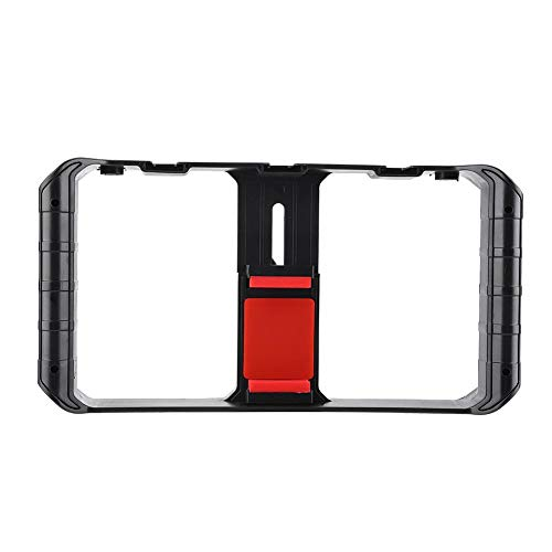 Ulanzi Smartphone Video Rig 3 Flitsschoen Mounts Filmmaking Case Stabilizer Frame Stand Externe microfoon