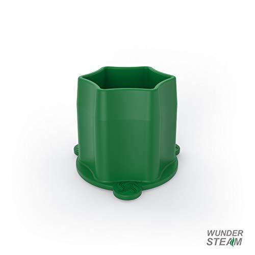 WunderSteam | Dampfgar-Kamin für Varoma | für optimale Dampfzirkulation | Farbe: Grün | Made in Germany