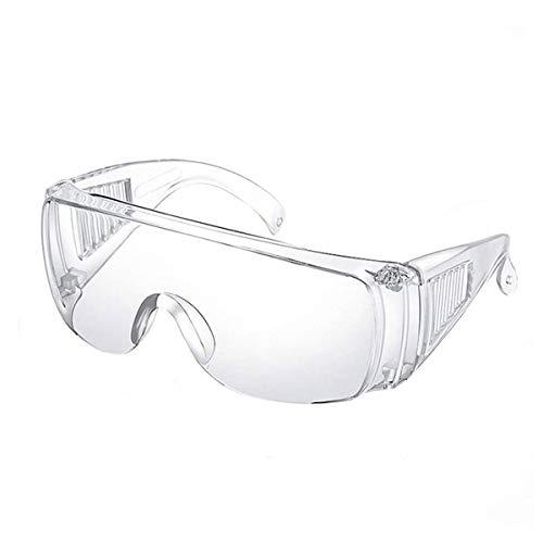 Namsan Schutzbrille Arbeitsschutzbrille Einstellbare Augenschutz Anti-Kratzer Anti-Nebel Anti-Ultraviolett Vollsicht Üerbrille für Brillenträger/Werkstatt