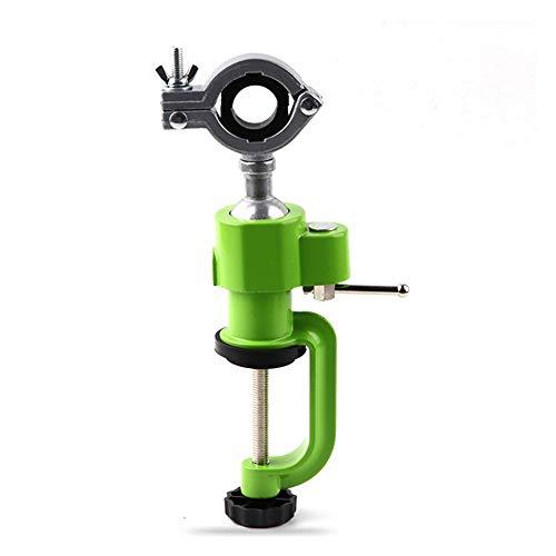 360 grados - Soporte de taladro eléctrico (23-30 mm, cuello europeo, ideal en combinación con plato de lijado y accesorio de pulido)