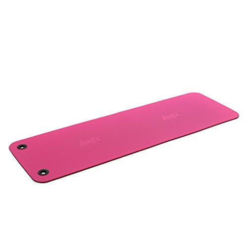 AIREX Fitline 180, Gymnastikmatte, pink, mit Spezial-Ösen, ca. 180 x 60 x 1 cm