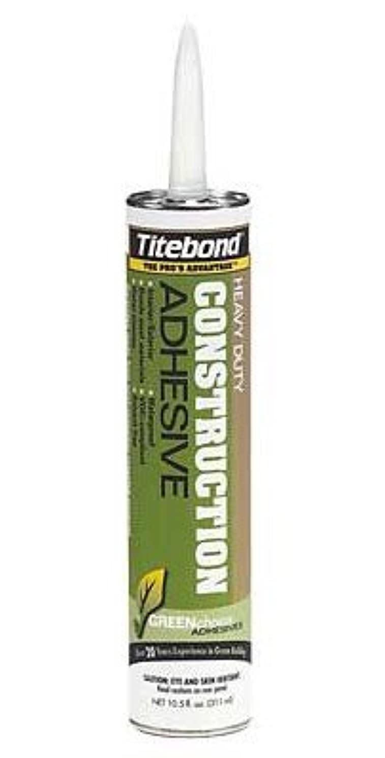 Franklin International 7471 Construction Adhesive, 10.5-Ounce, Green by Titebond