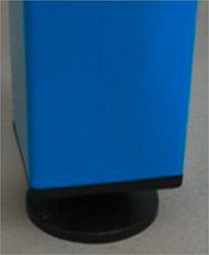 ADB Werkbankfuß T700 mm versch. Höhen in RAL 7035 | 5012, Farbe (RAL):Lichtblau (RAL 5012);Höhe:850 mm - 2
