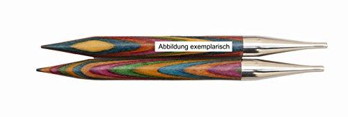 KnitPro 20421 wechselbare Nadelspitzen Symfonie Holz kurz, 3,00 mm