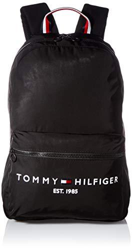 Tommy Hilfiger Herren TH ESTABLISHED Rucksack, Black, One Size
