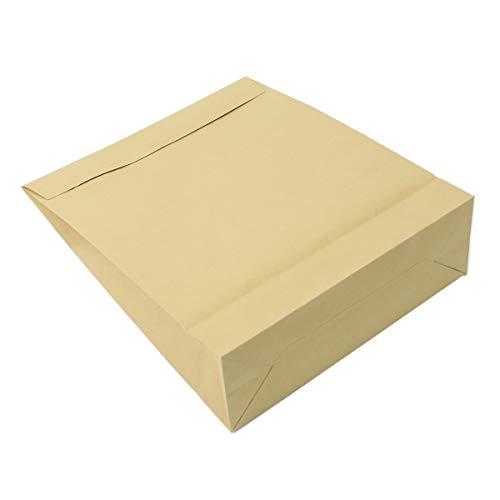 アースダンボール 宅配袋 梱包 紙袋 B4 マチ付き 100枚 【395×320mm】【2741】