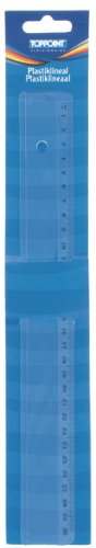 10 Plastik Lineale 30cm