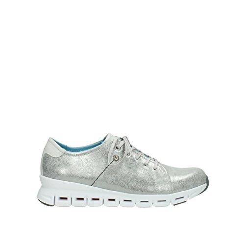Wolky Comfort Sneakers Mega - 70120 Silber Leder - 39