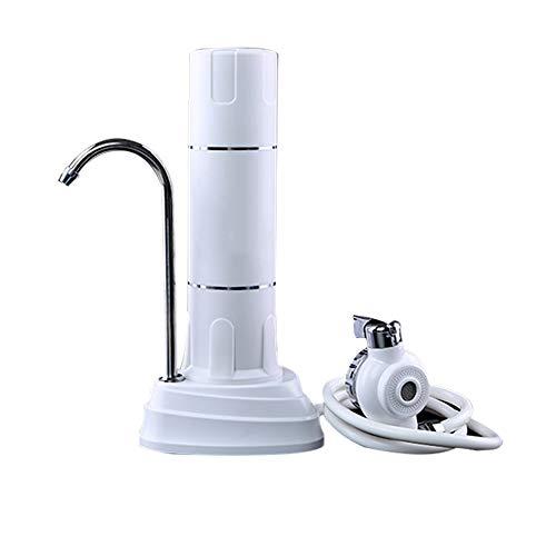 mettime filtro de agua, trabajo de agua potable Sistema de filtro–Swan Neck Sink Filtro de agua–agua Piñas Juego completo para casas–Fácil Instalación
