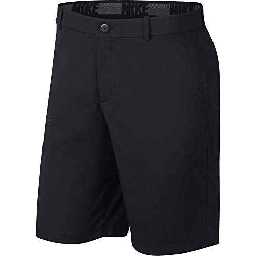 Nike Men's Core Flex Shorts, Dri-FIT Men's Golf Shorts with Sweat-Wicking Fabric, Black/Black, 36