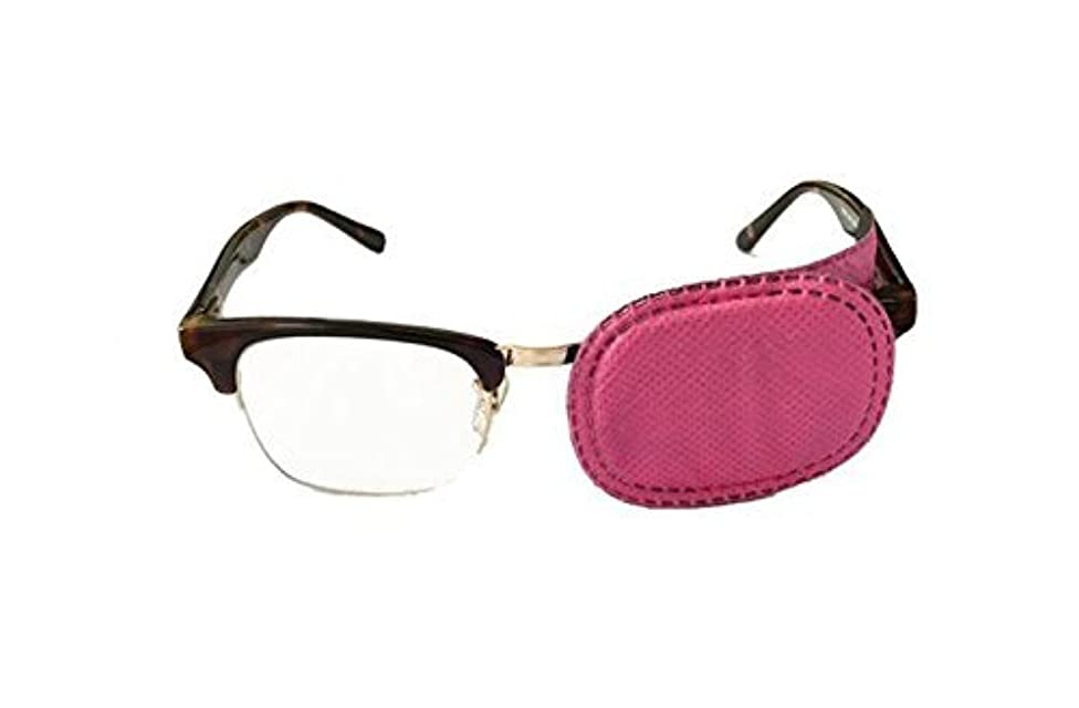 6PCS=3pairs Children Eye Patches for Treating Amblyopia Strabismus (Pink)